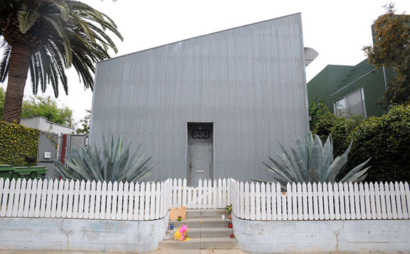 An architectural goldmine, Dennis Hopper's Venice Beach house is listed at $6,495,000—and boasts the features to back its price. With a spacious main house by Brian Murphy and three two-story condos by Frank Gehry, the compound encompasses five parcels of