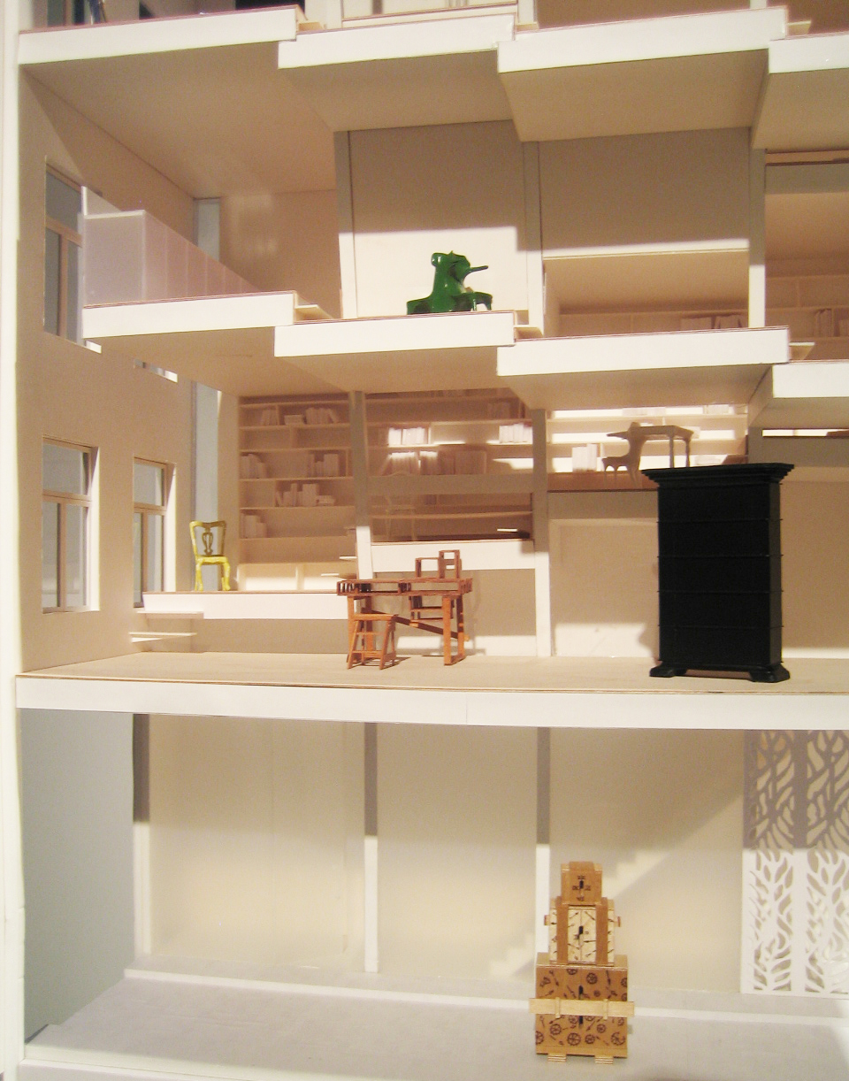 design miami droog atelier bow wow model vertical three bright