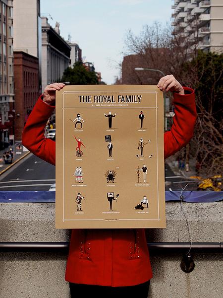 "The Bold Italic's <a href=""http://thebolditalic.bigcartel.com/product/the-royal-family"">Royal Family</a>."