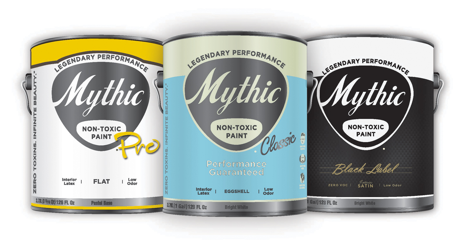 Mythic's cans have an old-timey appeal that is hard to turn away from. It's non-toxic, zero VOC cred only sweetens the deal.
