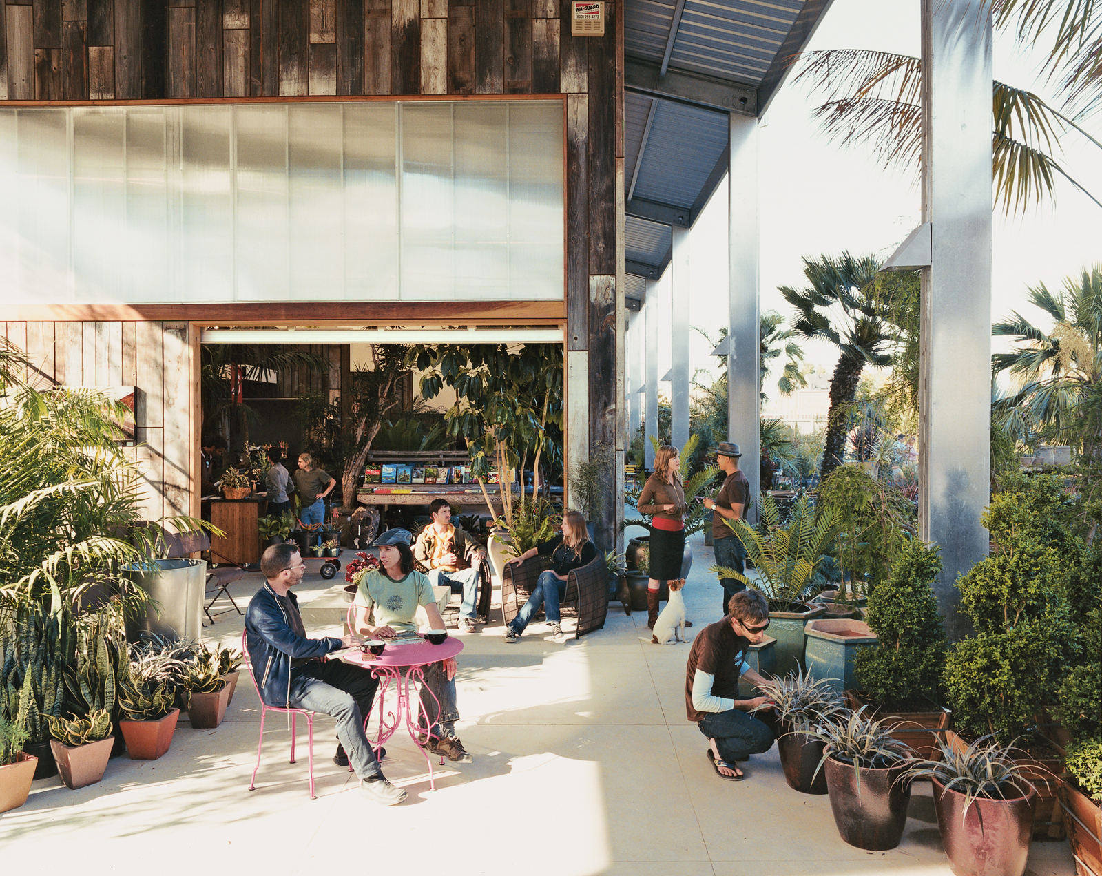 flora grubb gardens cafe