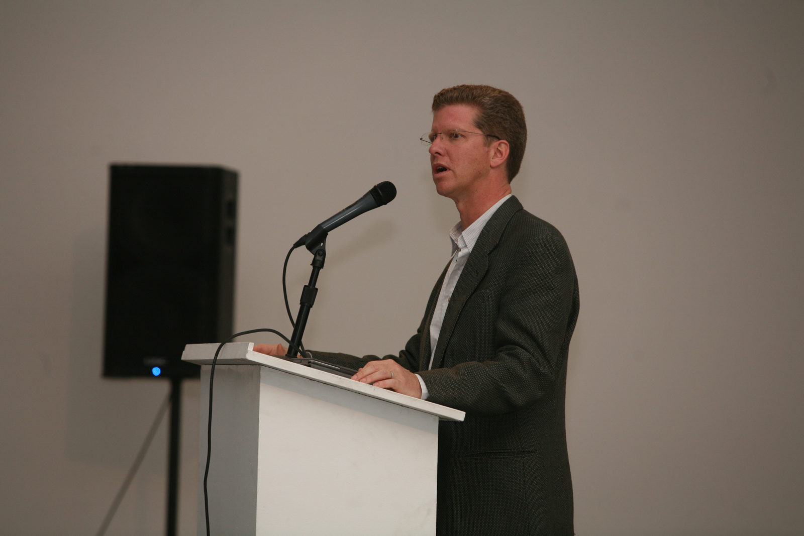 """Following the project presentations, U.S. Secretary of Housing and Urban Development Shaun Donovan delivered his address """"From Crisis to Opportunity: Rebuilding Communities in the Wake of Foreclosure."""""""
