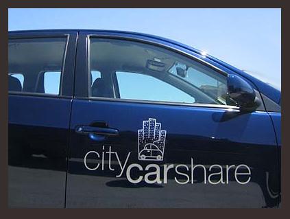 friday San Francisco City CarShare condo