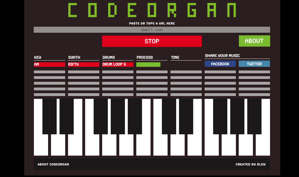 friday code organ