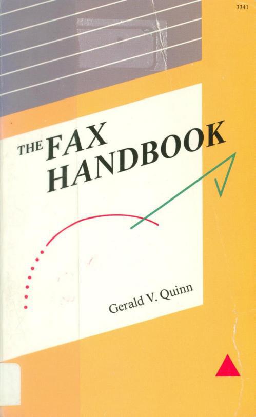 The Fax Handbook, 1989.