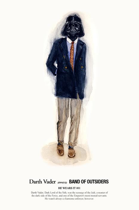 friday he wears it vadar