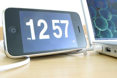 Flip Clock iPhone App