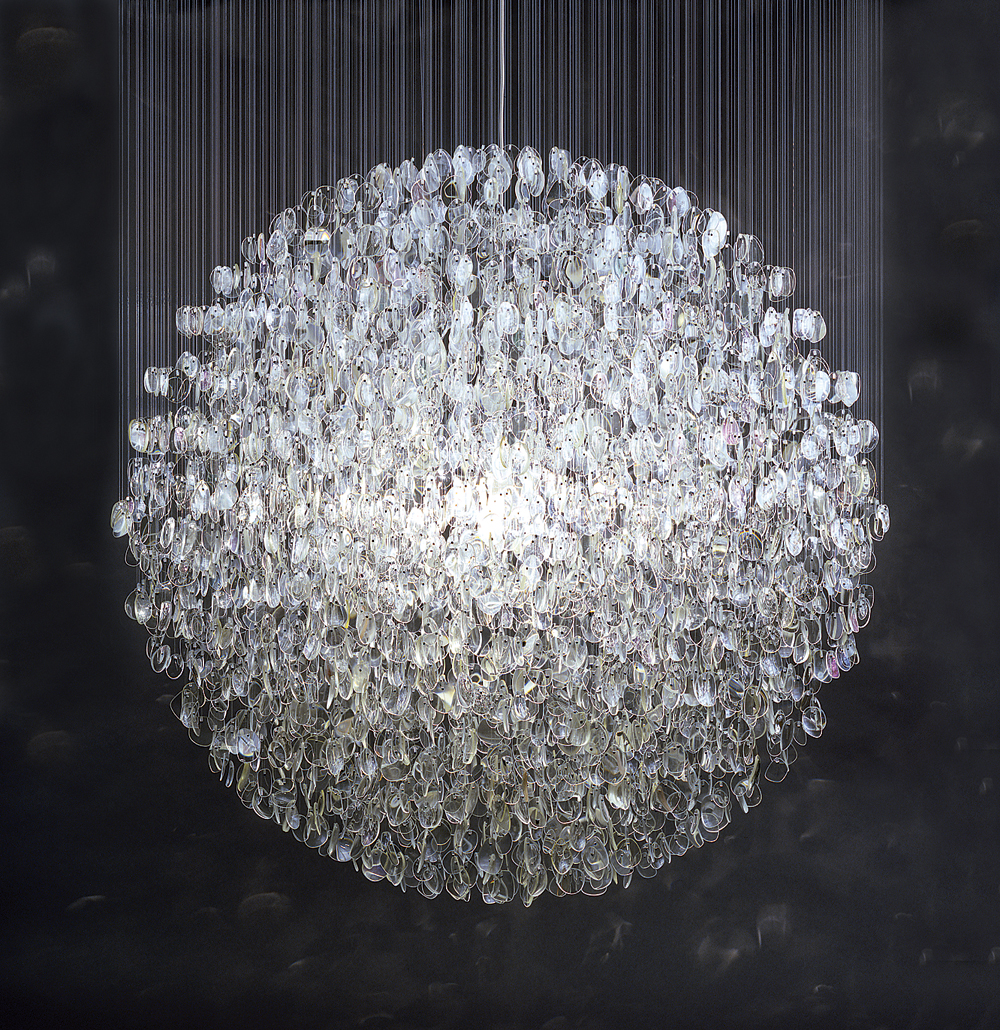 haygarth optical chandelier