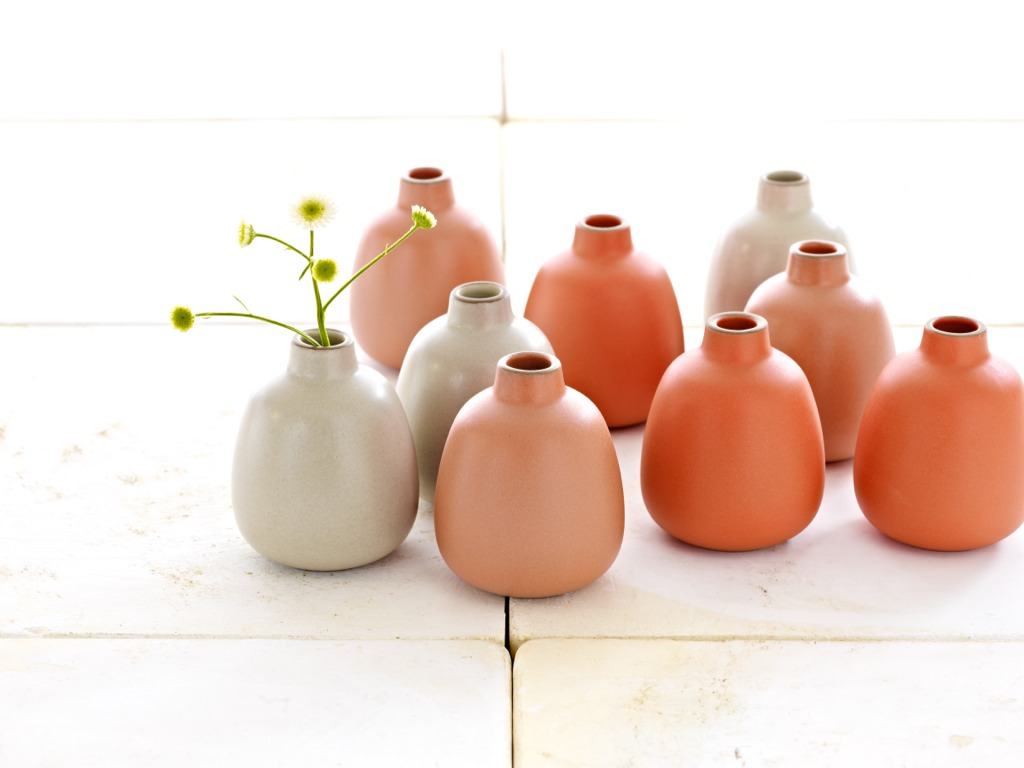 heath summer vases