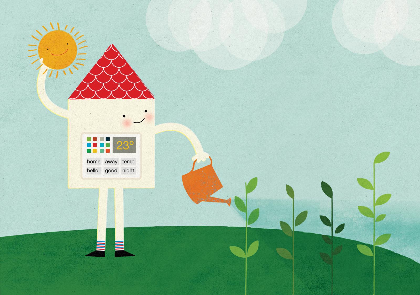 home smart home gardening