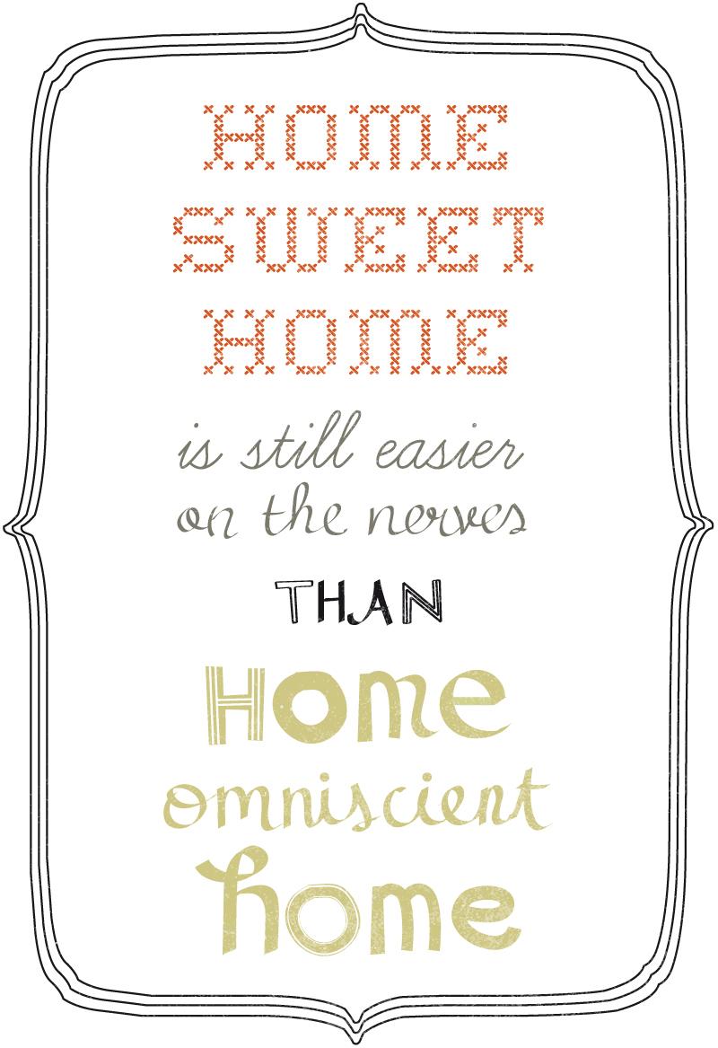 home smart home home sweet home
