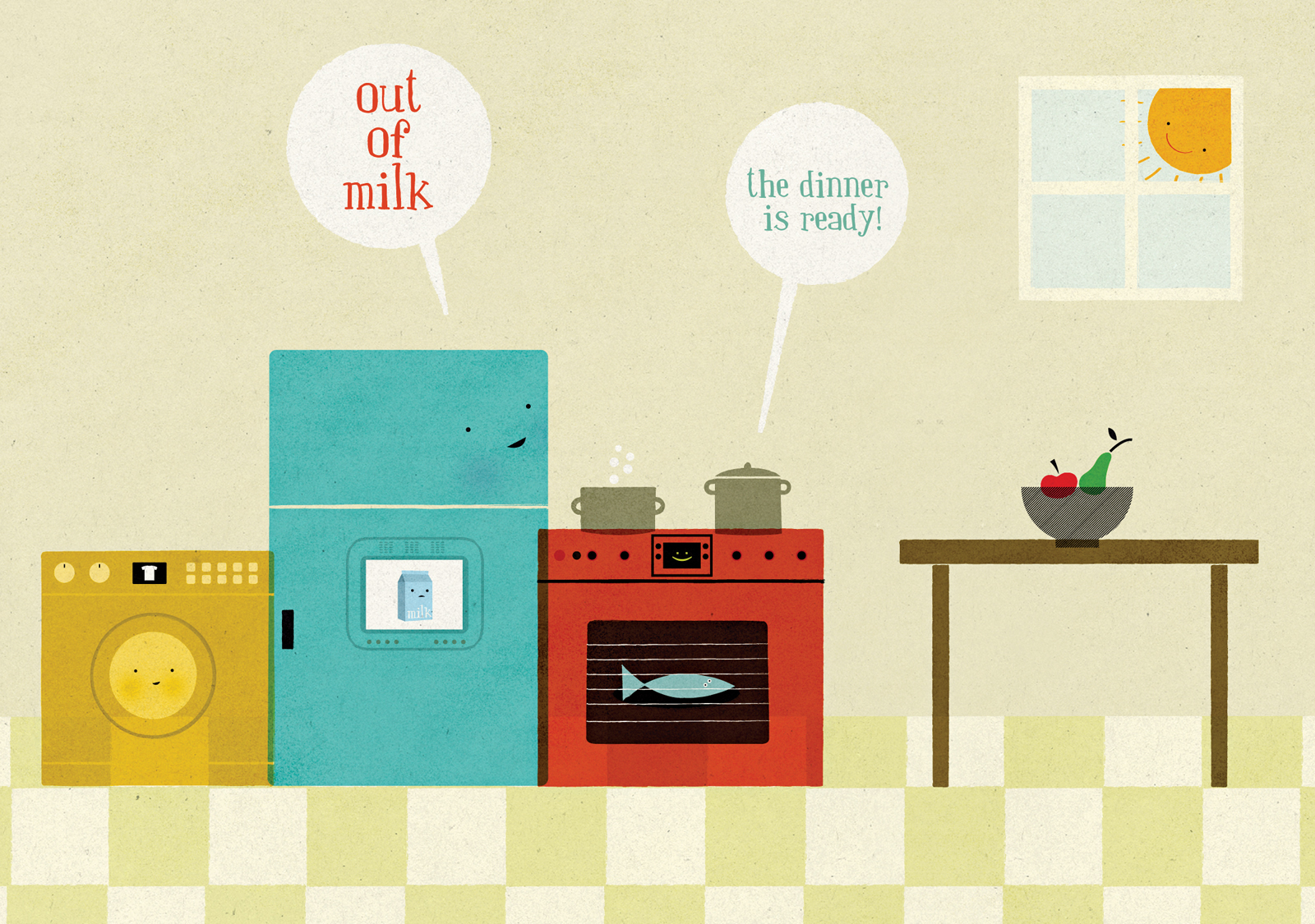 home smart home out of milk