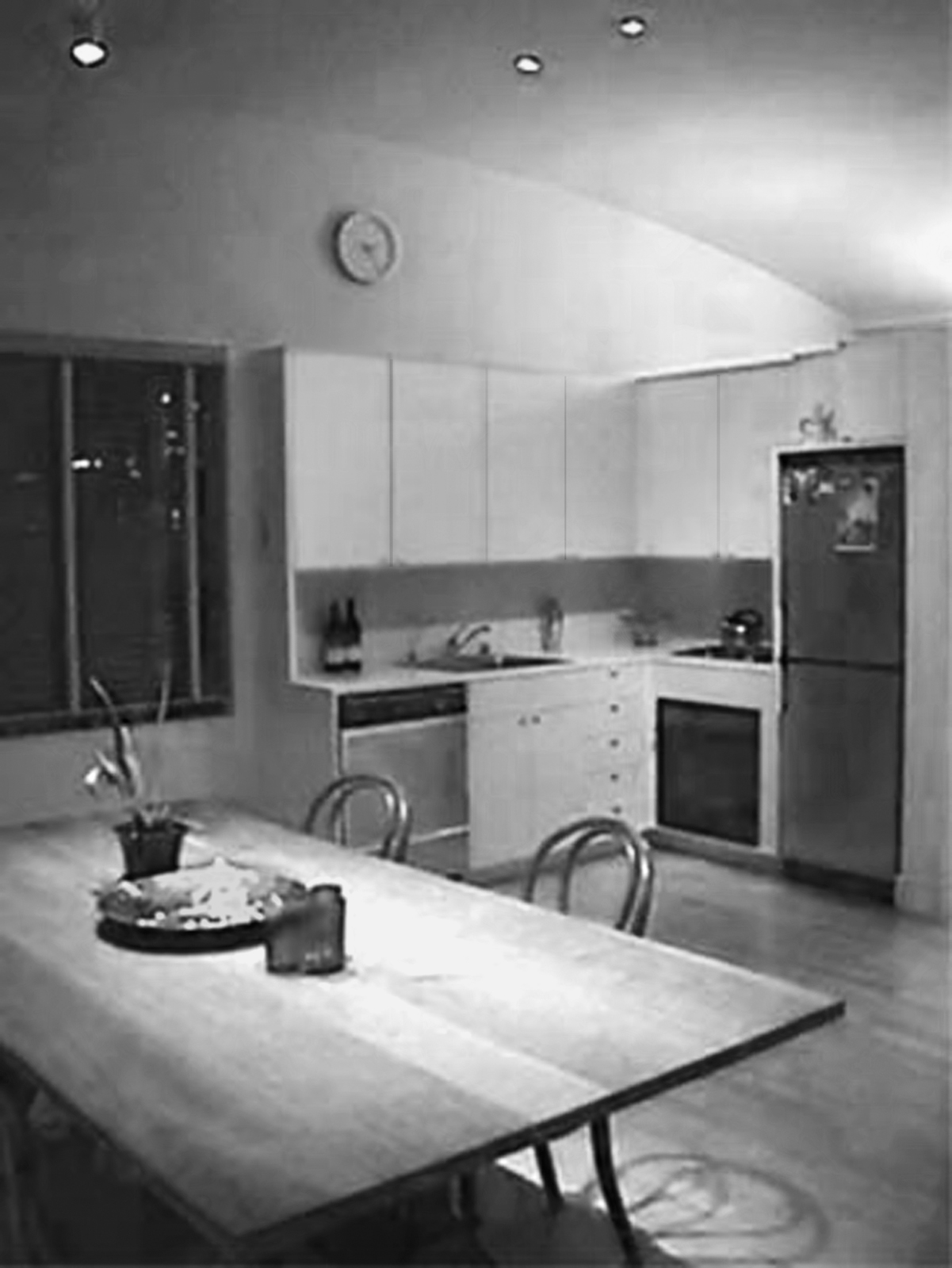 """Calder Smith's kitchen before renovations. He says the space possessed """"no redeeming qualities."""""""