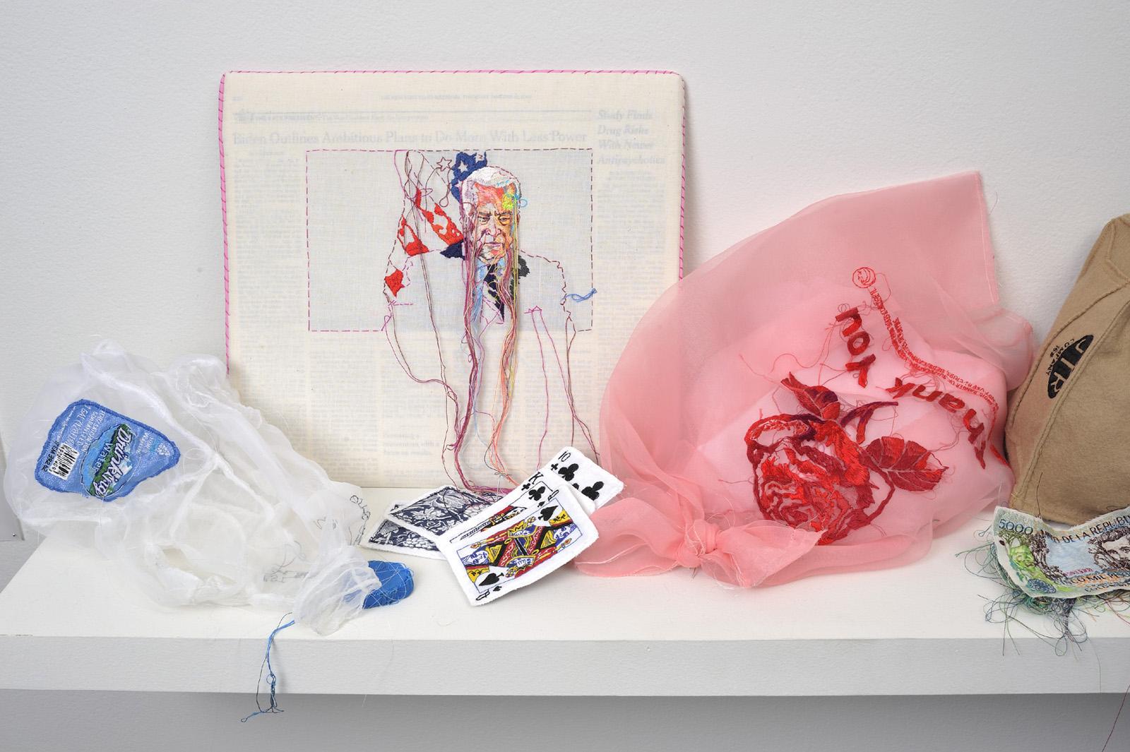 "Selected works by <a href=""http://www.laurendicioccio.com/"">Lauren DiCioccio</a>. Image courtesy of the artist and Jack Fischer Gallery."