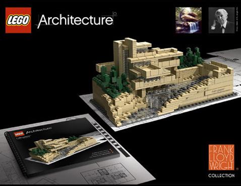 lego architecture frank lloyd wright