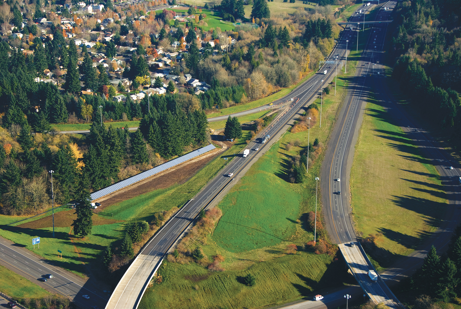 linear city oregon interstate