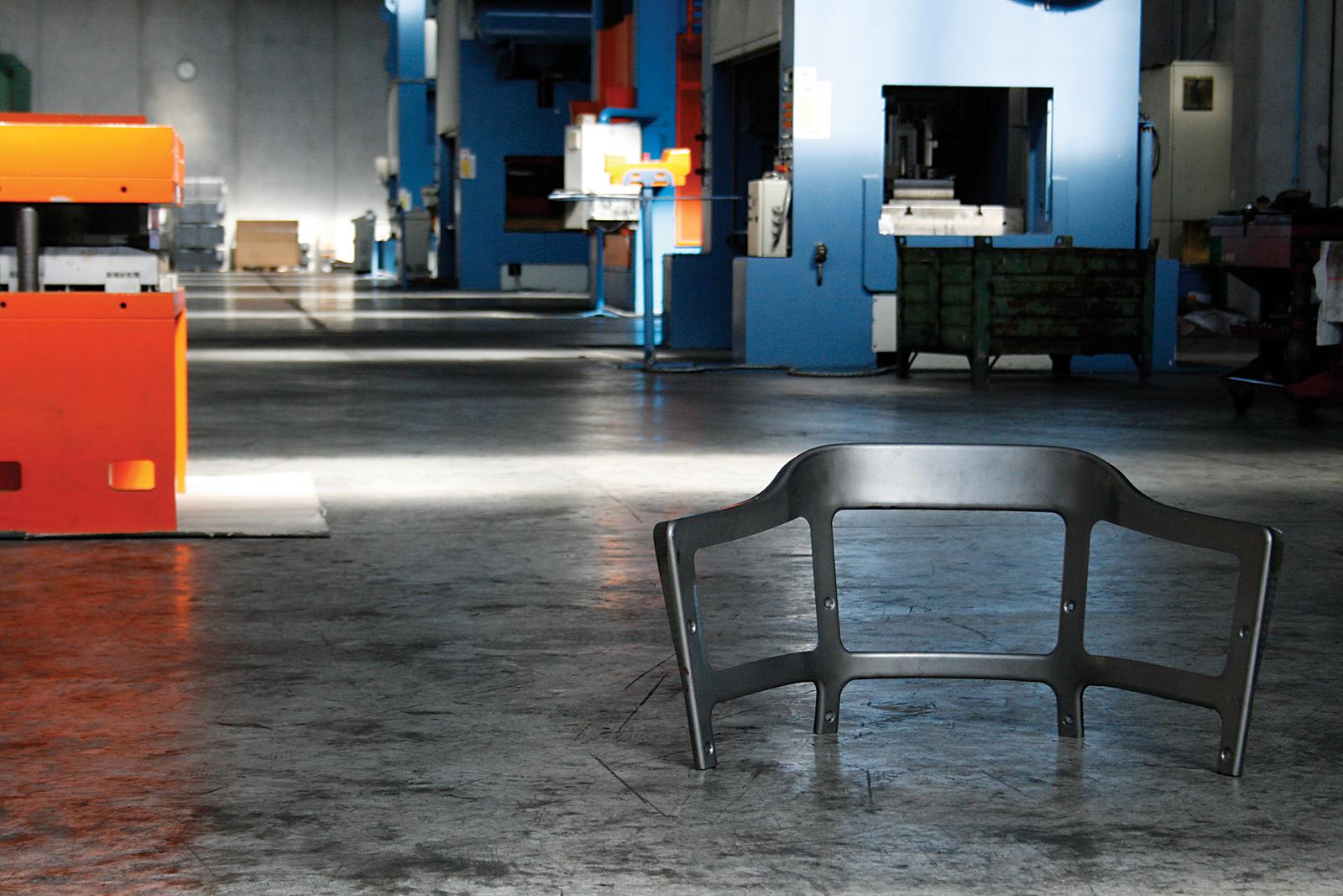 magis steelwood chair factory