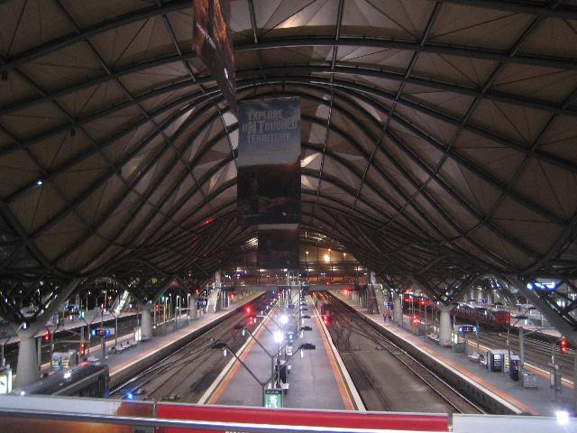 melbourne australia Southern Cross Station