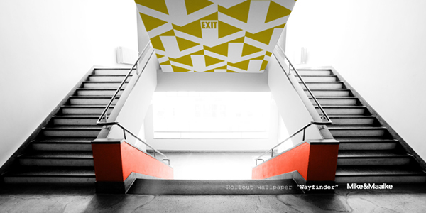 The functional and decorative designs create new possibilities for architects, interior designers and space planners.