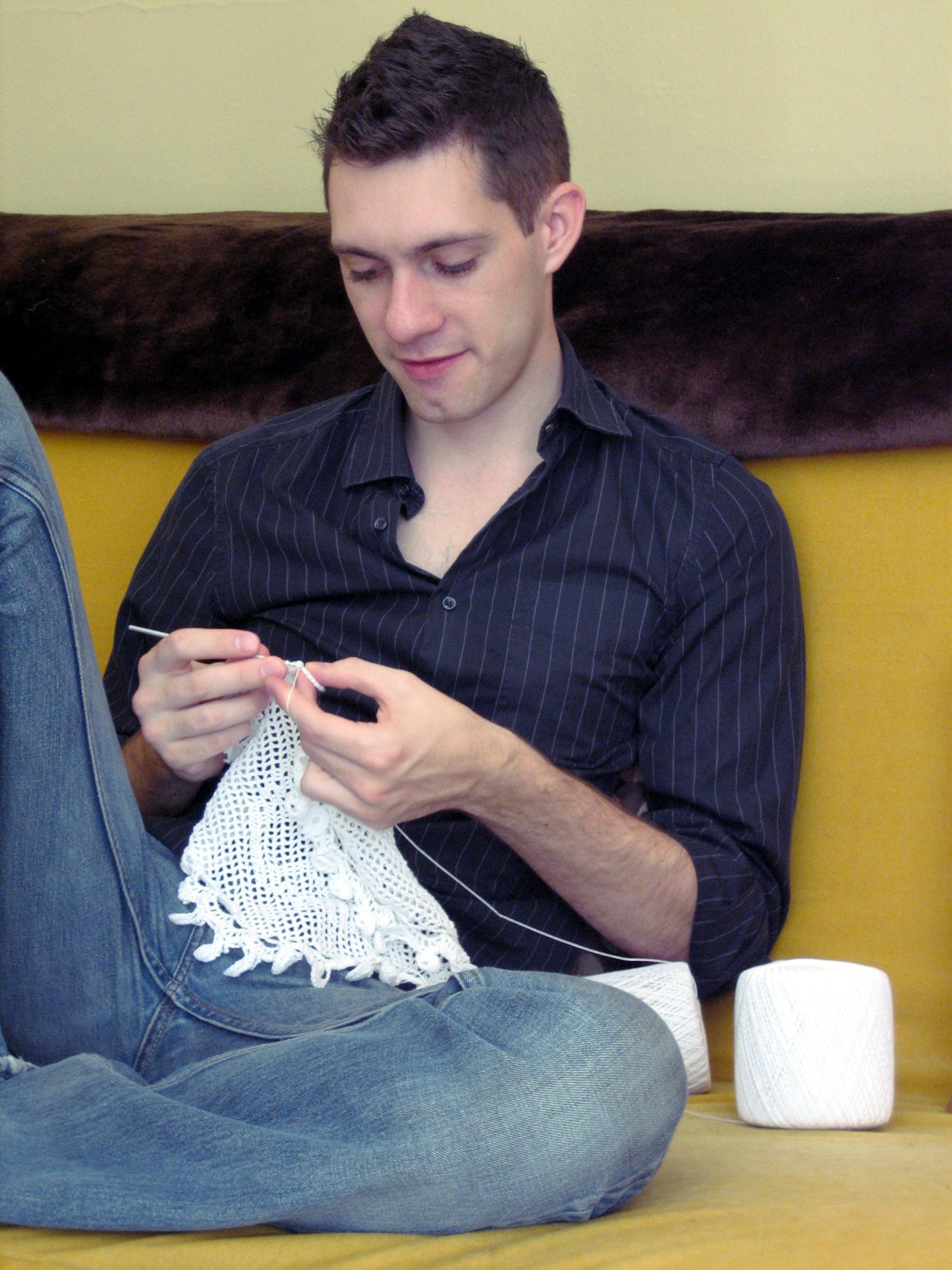 nathan vincent portrait sewing