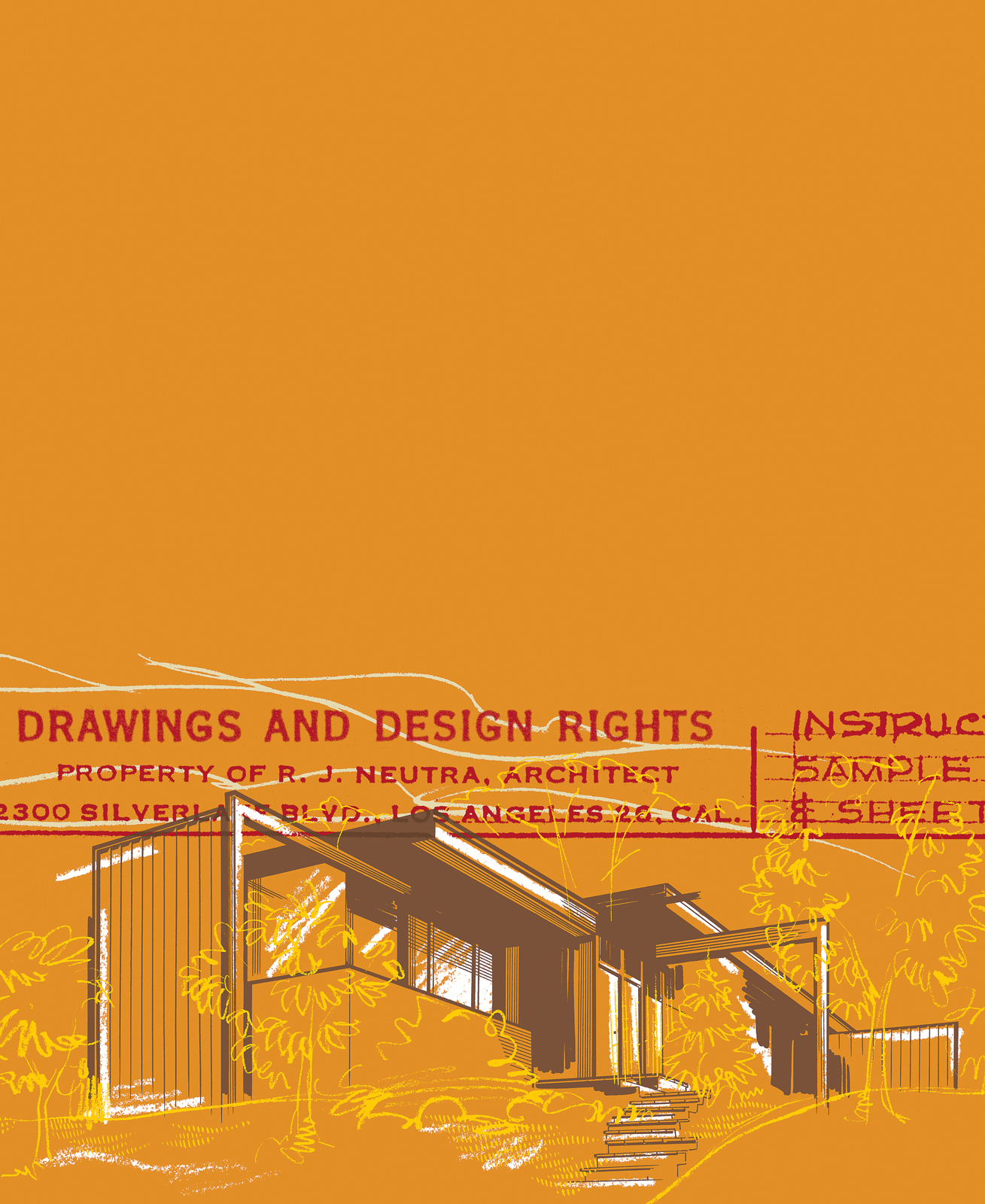 neutra essay illustration drawings design rights