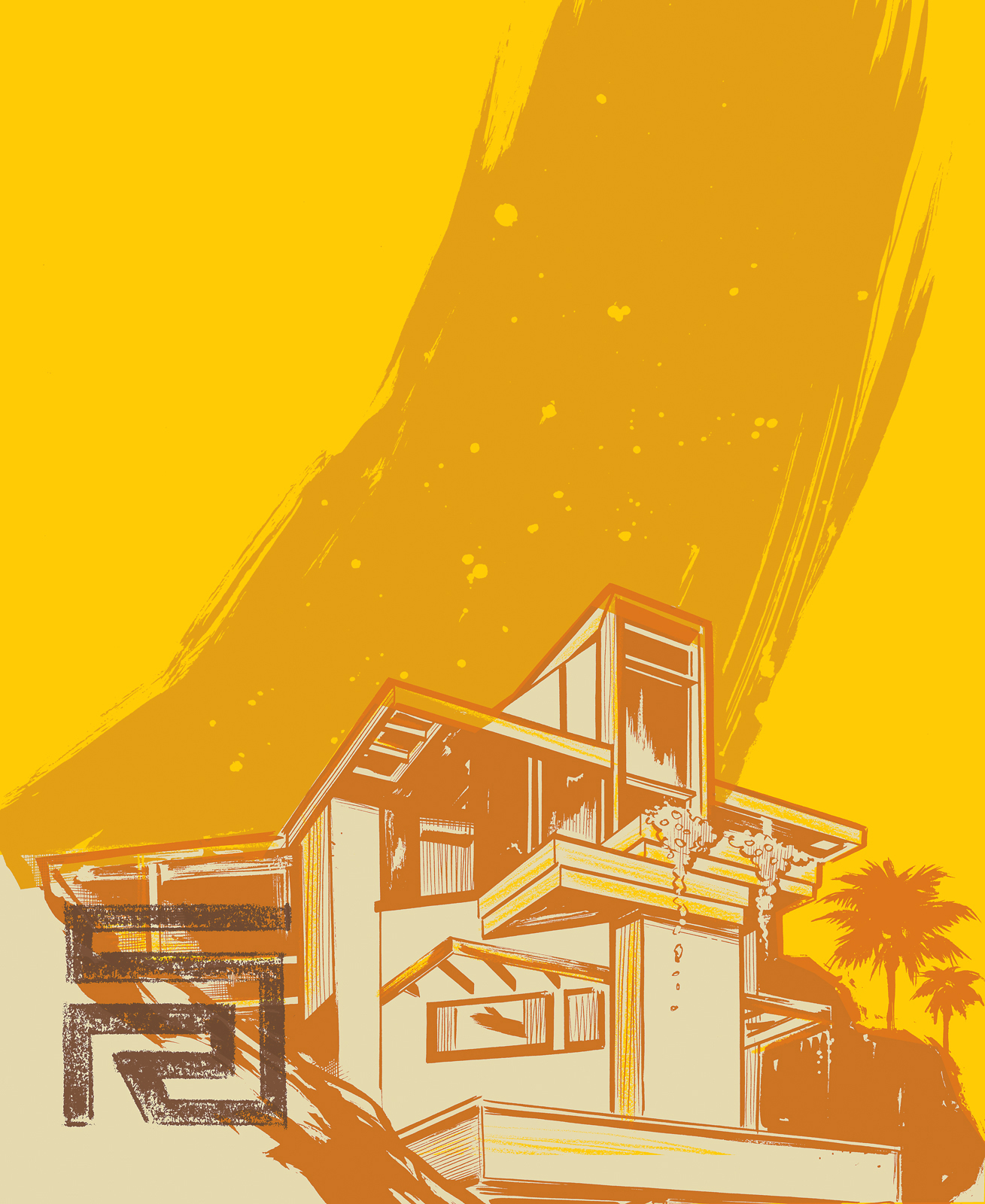 neutra essay illustration house