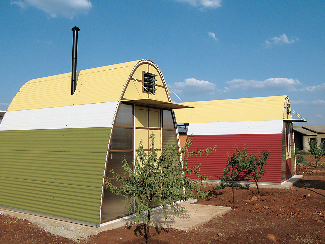 New Abo¯d homes in South Africa.
