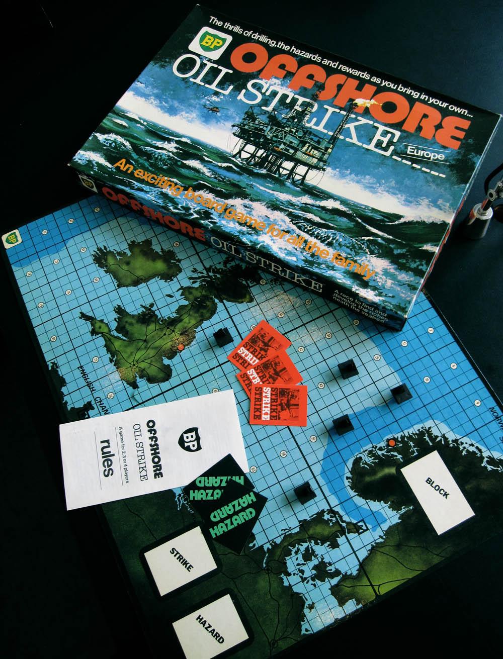 offshore oil strike