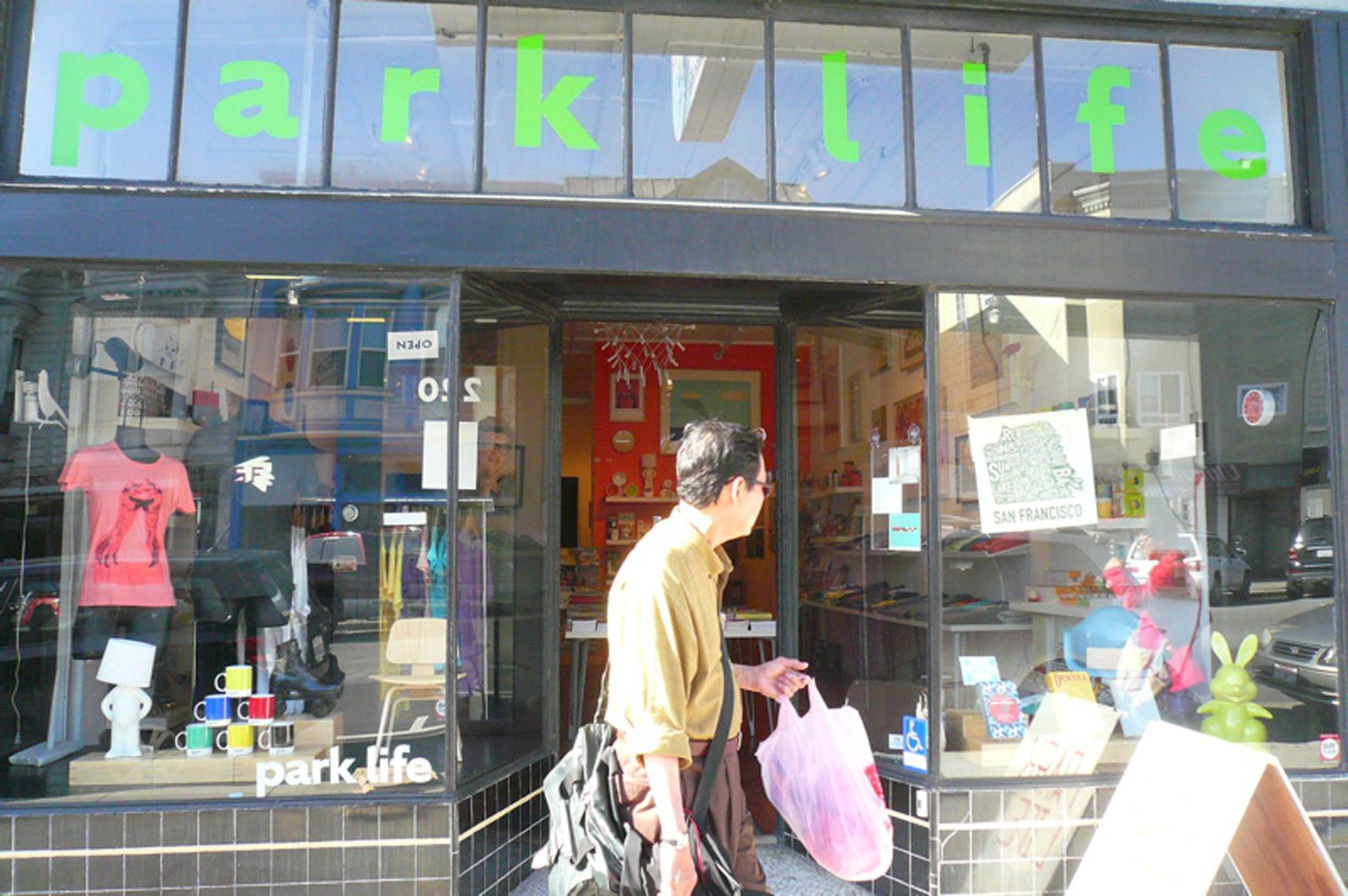 parklife shop exterior