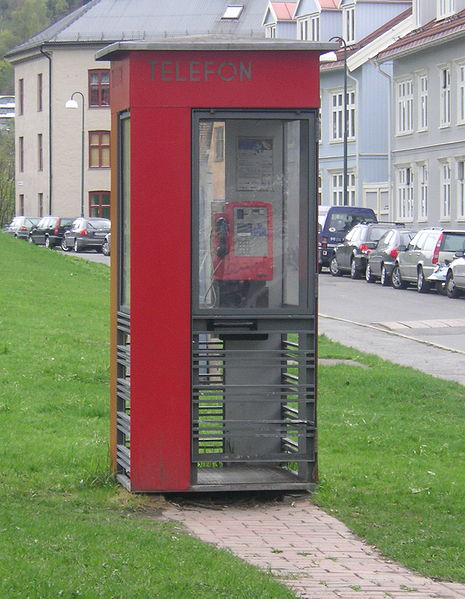 phone booth norway