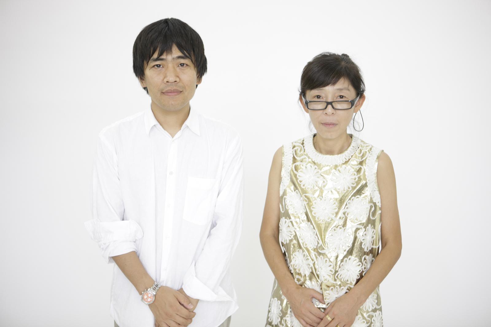 Ryue Nishizawa and Kazuyo Sejima, right.