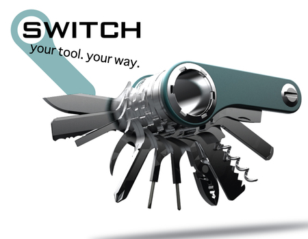 quirky switch knife