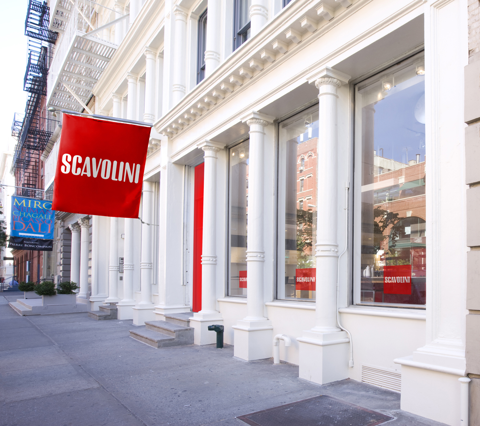 Scavolini's new showroom is located at 429 W Broadway, between Prince and Spring streets.