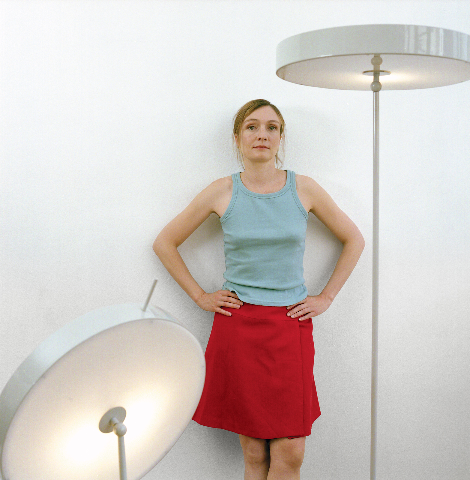 sempe tall and short lampe plate for cappellini portrait