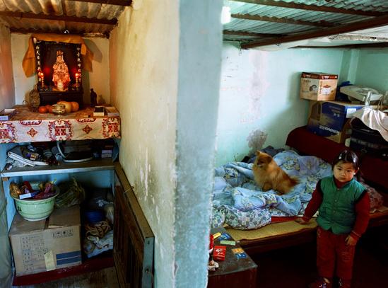 shanghai living poor wall divide