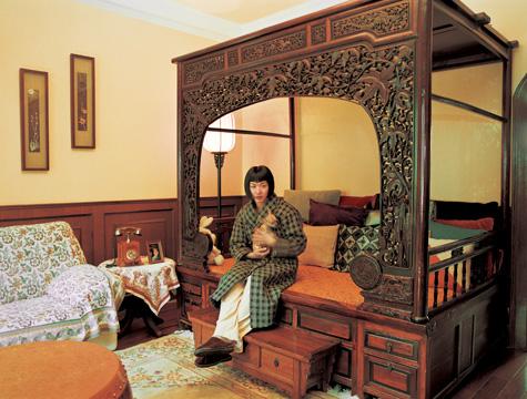 shanghai living rich girl