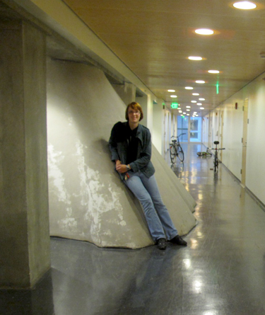 """""""Sometimes students like to run up the walls,"""" says Renee."""