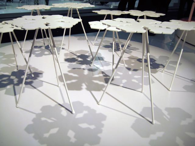 snowflakes table offect claesson koivisto rune horizontal