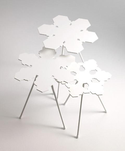 snowflakes table offect claesson koivisto rune