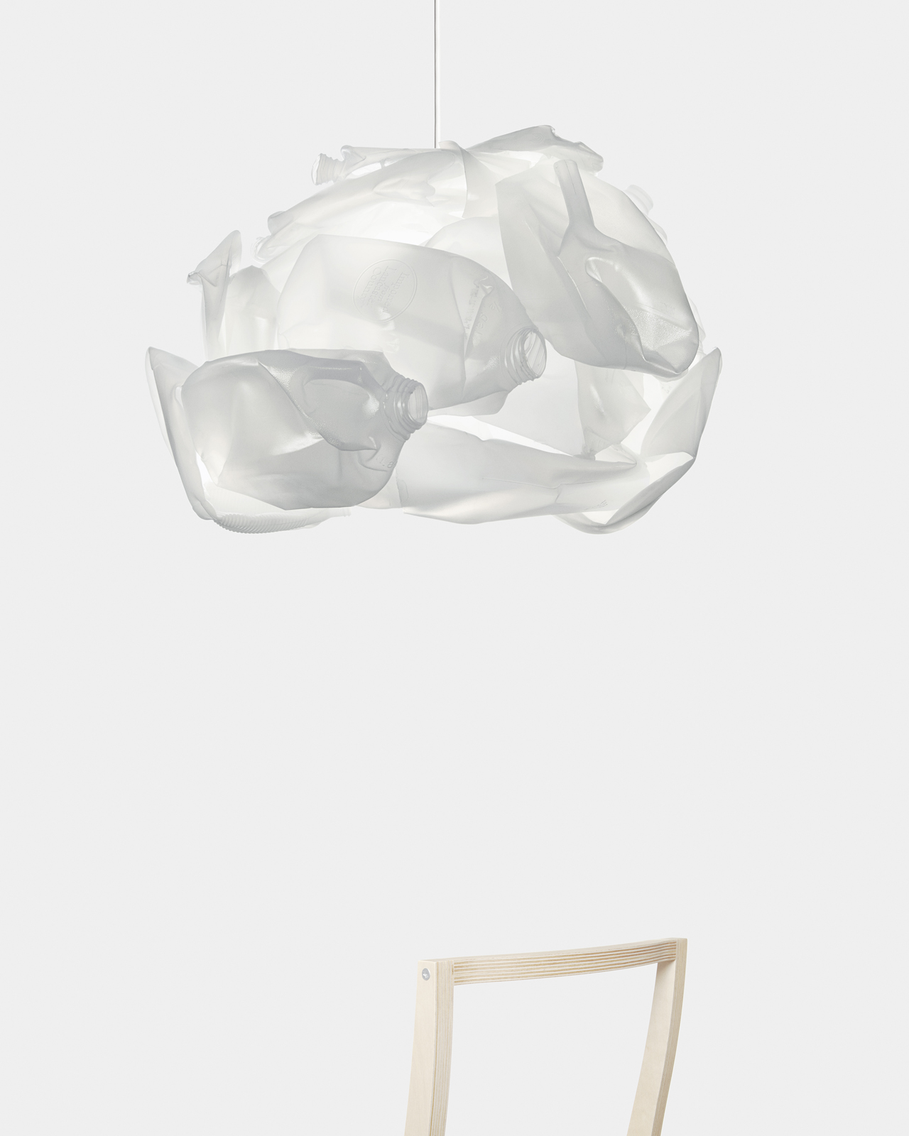 Stephen Burks, <i>Untitled (HDPE lamp)</i>, 2011. Photo by Kevin Kunstandt & Andrew Kenny.