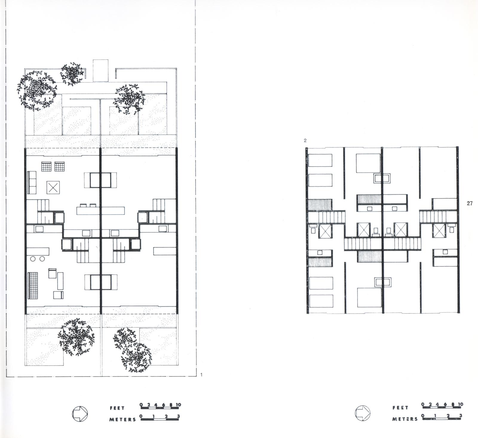Original 1952 plan of the building.