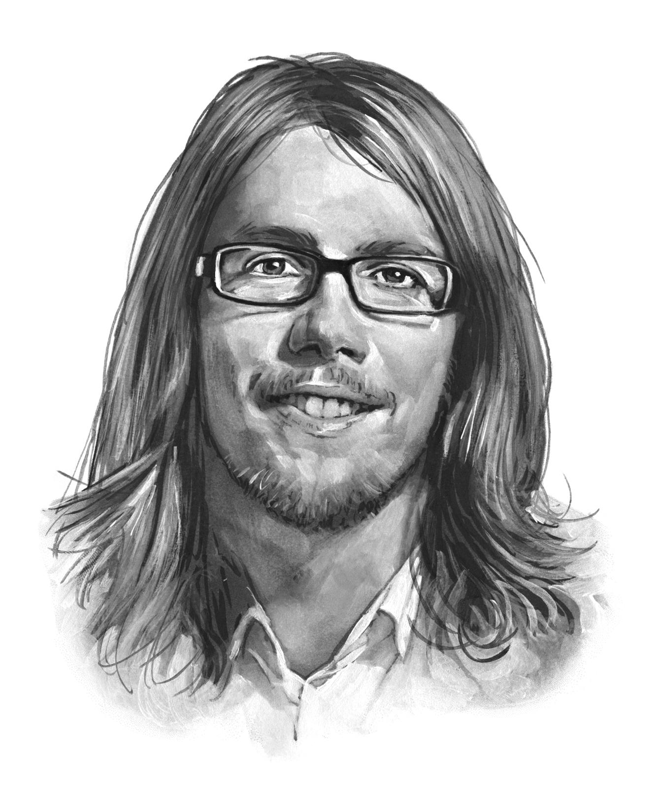 Fredrik Farg portrait by Bernd Schifferdecker
