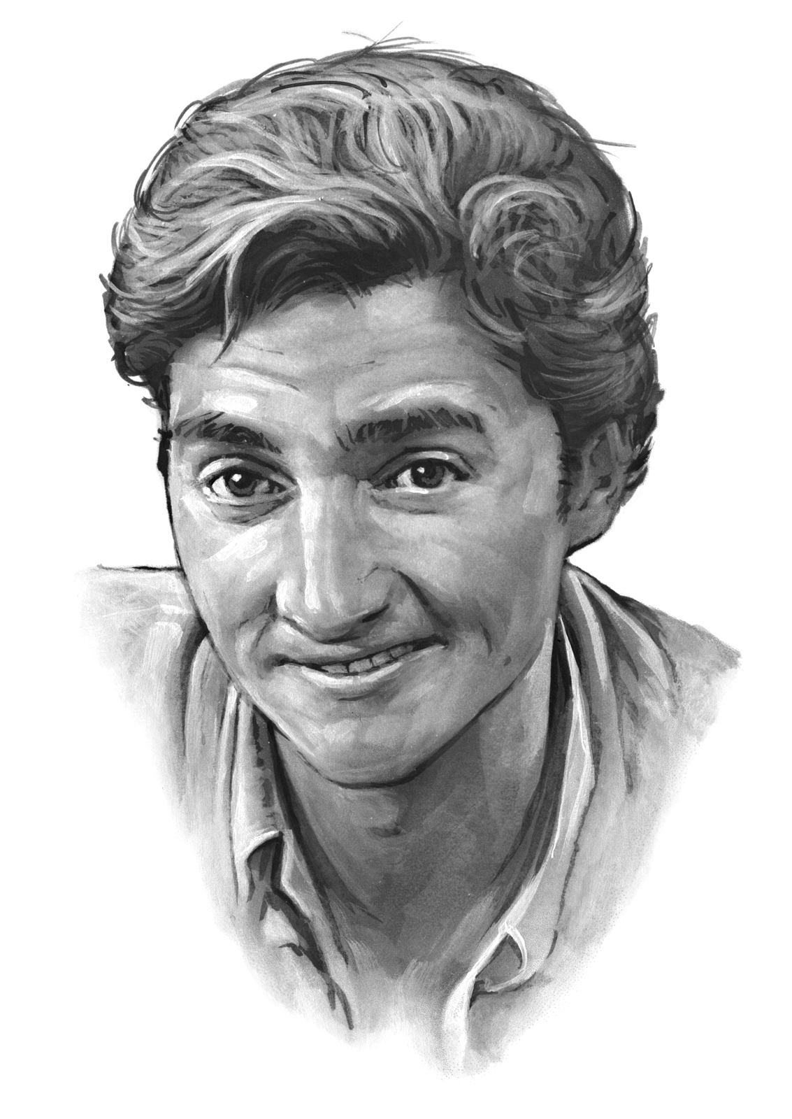 Henry Wilson portrait by Bernd Schifferdecker
