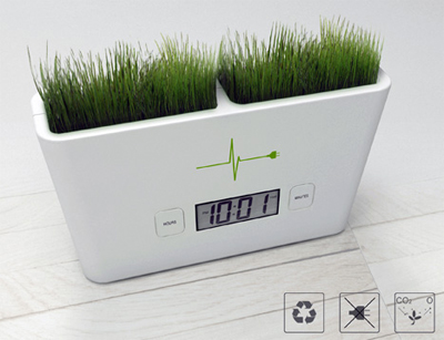 garden clock technology sustainable eco