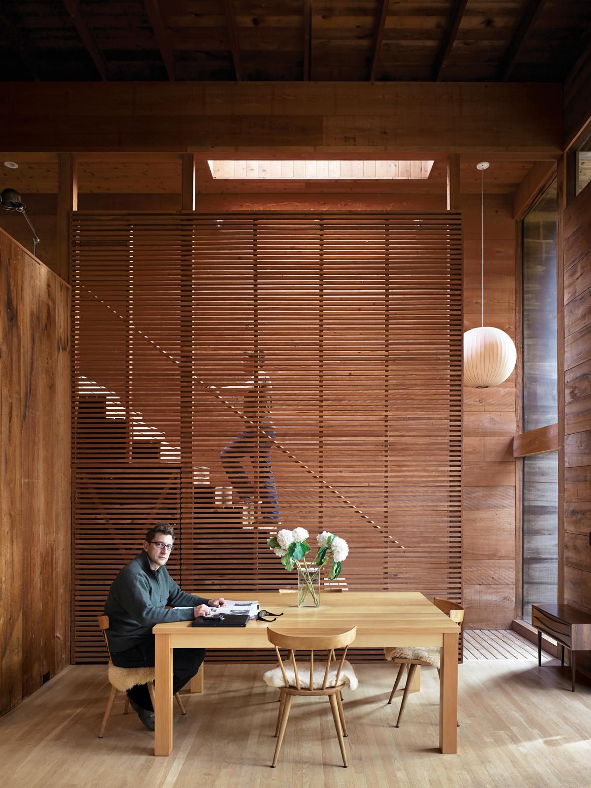 dolce burnham residence after dinning room portrait