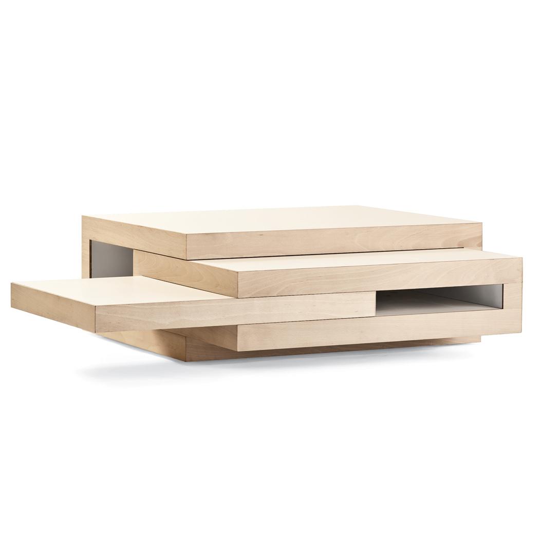 REK wooden coffee table by Reinier de Jong