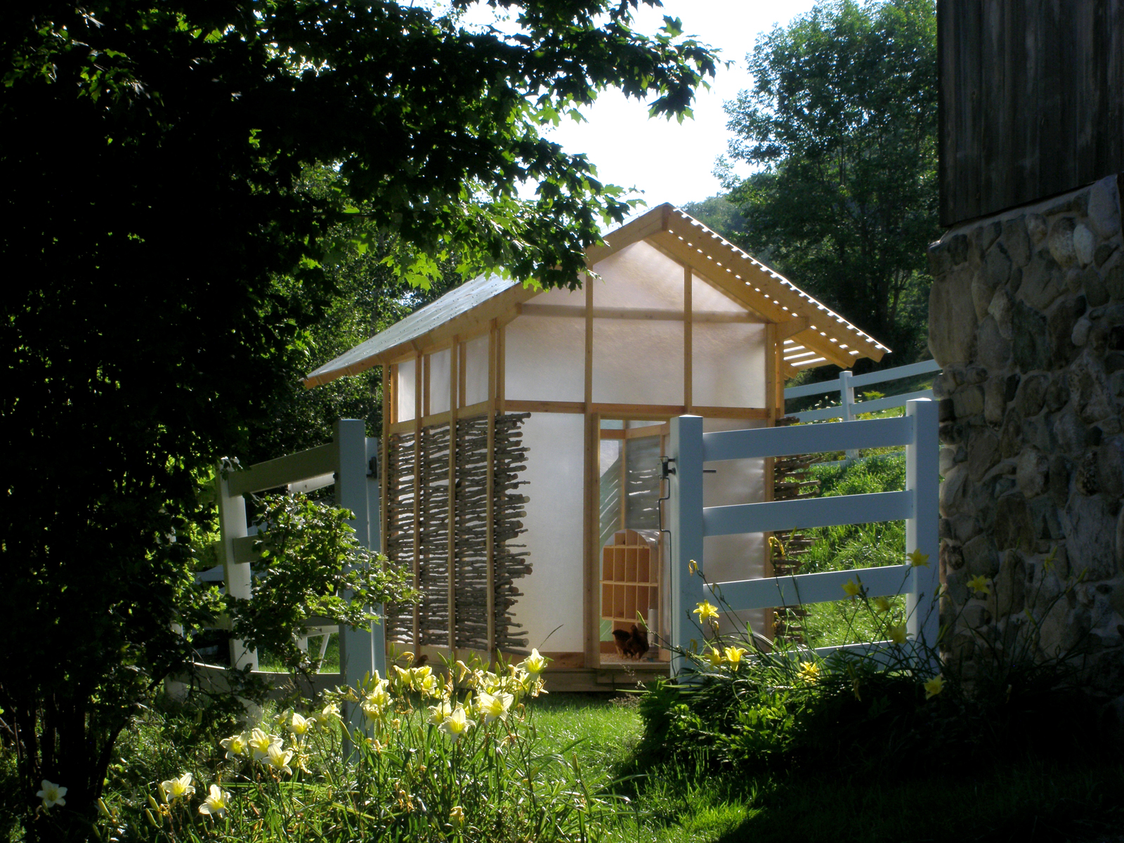 "The idea to launch a design-build studio grew out of Moskow and Linn's experience building their own personal project, the <a href=""http://www.dwell.com/slideshows/swamp-thing.html"">Swamp Hut</a>, in 2008. ""You're always looking for that job that you can"