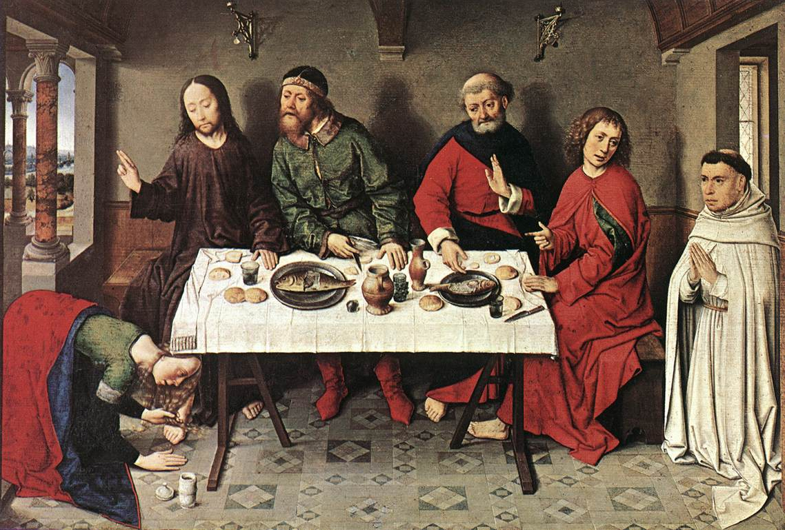 Dieric Bouts Feast in the House of Simon