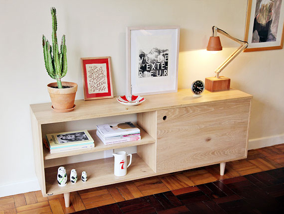 "Monya Eastman's ""Peggy"" console."