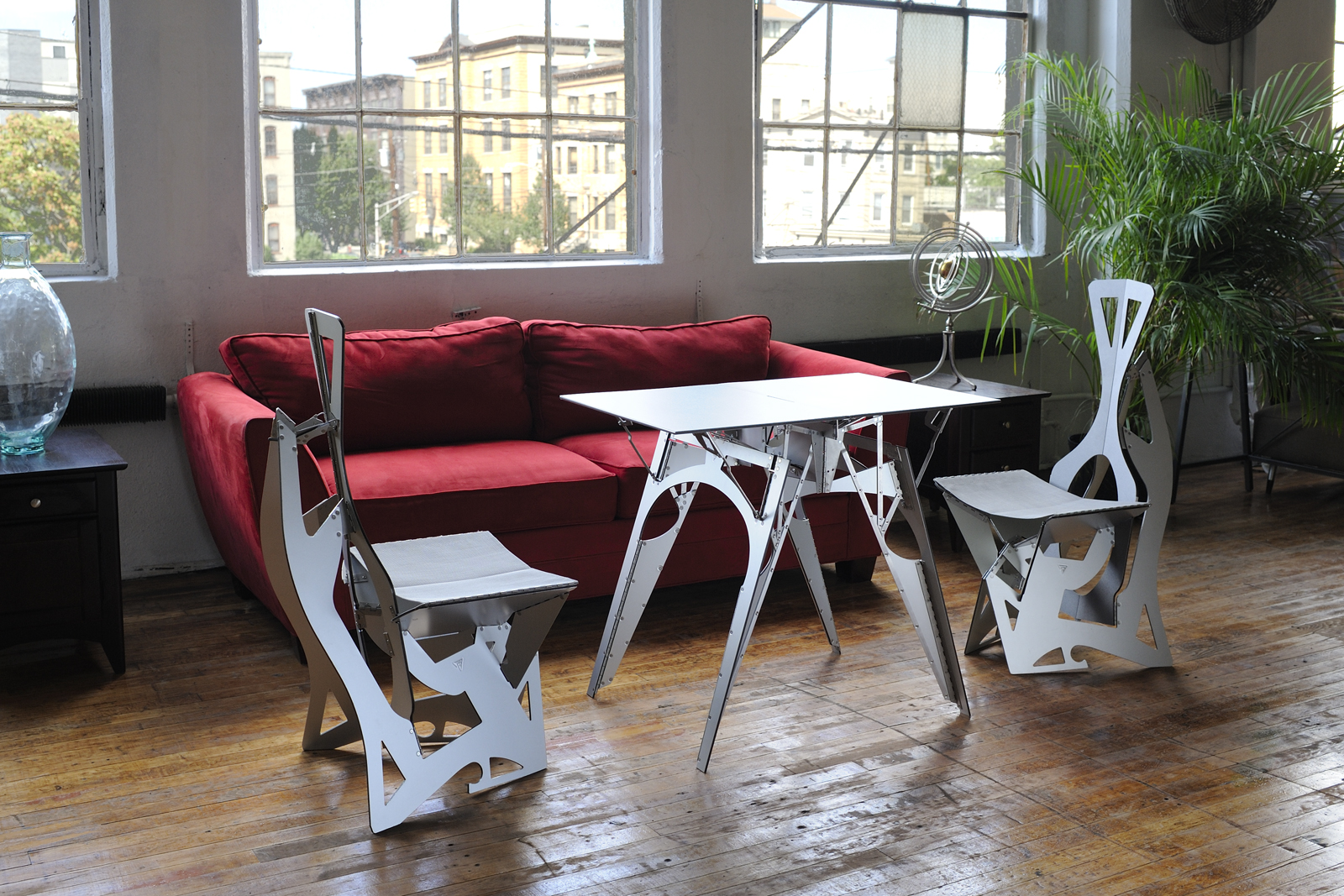folditure chairs table loft
